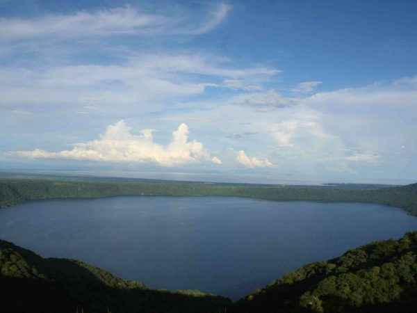 Land van meren en vulkanen