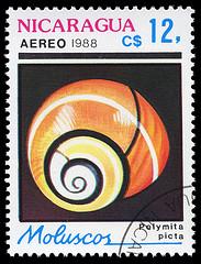 Postzegel slak klein 183x240