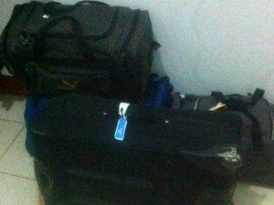 koffers gepakt