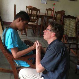 Een Nederlandse vrijwilliger in Juigalpa