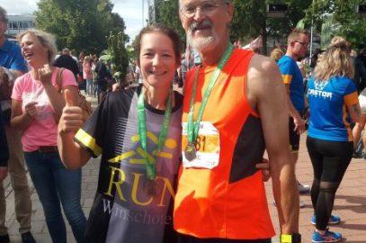 Eric's 50 km run voor de Fundación Ruach in Nicaragua