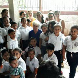 Bezoek schoolkinderen