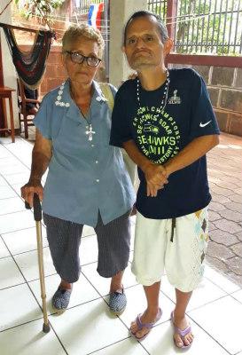 Miguel en zijn moeder