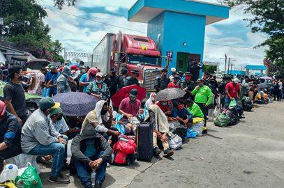 Migranten in Nicaragua